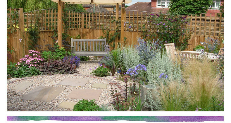 Rebecca webb garden designs for Images of back garden designs