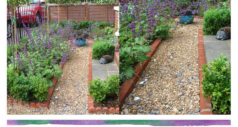 Front garden design ideas front garden ideas herb garden for Front garden designs uk